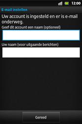 Sony ST27i Xperia Go - E-mail - Handmatig instellen - Stap 15