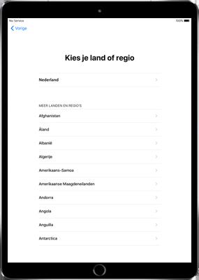 Apple iPad Air 2 - iOS 11 - Instellingen aanpassen - Hoe gebruik ik de Automatisch inloggen-optie - Stap 7