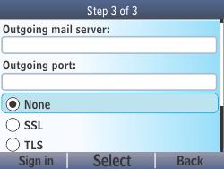 Nokia Asha 210 - Email - Manual configuration - Step 15