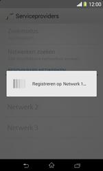 Sony D2005 Xperia E1 - Netwerk - Handmatig netwerk selecteren - Stap 12