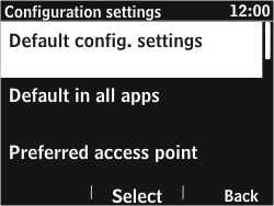 Nokia Asha 302 - Settings - Configuration message received - Step 19