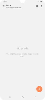 Samsung Galaxy A70 - E-mail - Manual configuration (outlook) - Step 5