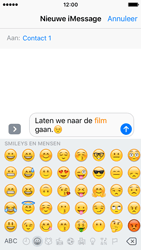 Apple iPhone SE - iOS 10 - iOS features - Stuur een iMessage - Stap 14