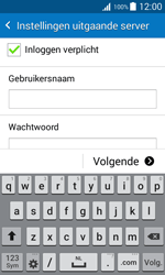 Samsung Galaxy J1 (J100H) - E-mail - Account instellen (POP3 zonder SMTP-verificatie) - Stap 12