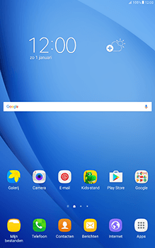 Samsung Galaxy Tab A 10.1 (SM-T585) - E-mail - 032c. Email wizard - Outlook - Stap 1