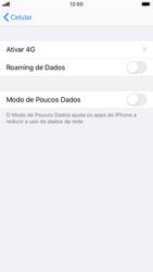 Apple iPhone 7 - iOS 13 - Rede móvel - Como ativar e desativar o roaming de dados - Etapa 5