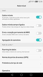 Huawei Honor 8 - Internet no telemóvel - Como ativar os dados móveis -  7