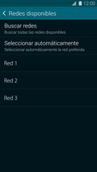 Samsung G900F Galaxy S5 - Red - Seleccionar una red - Paso 8
