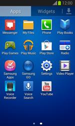 Samsung S7390 Galaxy Trend Lite - Mms - Manual configuration - Step 3