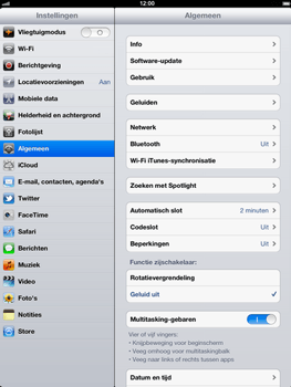Apple The New iPad - Bluetooth - Aanzetten - Stap 2