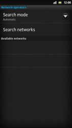 Sony LT26i Xperia S - Network - Usage across the border - Step 7