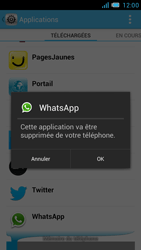 Bouygues Telecom Bs 471 - Applications - Supprimer une application - Étape 7
