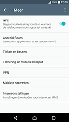 Sony Xperia X Performance (F8131) - Internet - Dataroaming uitschakelen - Stap 5