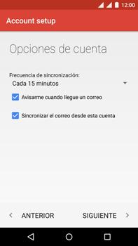 Motorola Moto X Play - E-mail - Configurar correo electrónico - Paso 25