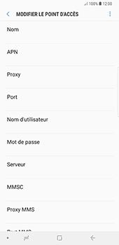 Samsung Galaxy Note9 - Internet - configuration manuelle - Étape 11