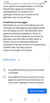 Samsung galaxy-s9-sm-g960f-android-pie - Applicaties - Account aanmaken - Stap 15