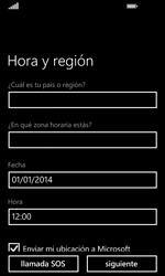 Nokia Lumia 635 - Primeros pasos - Activar el equipo - Paso 17