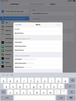 Apple ipad-air-10-5-inch-2019-model-a2123 - E-mail - Account instellen (POP3 met SMTP-verificatie) - Stap 13