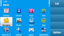 Nokia N97 - MMS - Sending pictures - Step 2