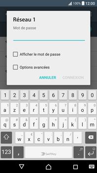 Sony F3211 Xperia XA Ultra - WiFi et Bluetooth - Configuration manuelle - Étape 7