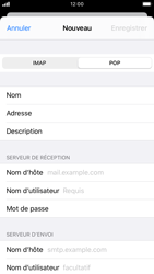 Apple iPhone 8 - iOS 13 - E-mail - Configuration manuelle - Étape 11