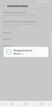 Samsung Galaxy S9 Plus - Réseau - Sélection manuelle du réseau - Étape 11