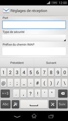 Sony D2203 Xperia E3 - E-mail - Configuration manuelle - Étape 10