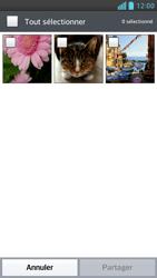 LG Optimus F6 - Photos, vidéos, musique - Envoyer une photo via Bluetooth - Étape 6