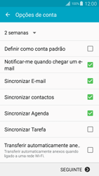 Samsung Galaxy S4 LTE - Email - Adicionar conta de email -  9