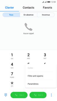 Huawei Mate 9 Pro - Messagerie vocale - Configuration manuelle - Étape 4