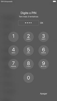 Apple iPhone 6s Plus - iOS 11 - Primeiros passos - Como ligar o telemóvel pela primeira vez -  6