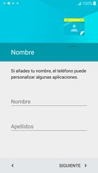 Samsung Galaxy J5 - Primeros pasos - Activar el equipo - Paso 8