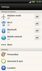 HTC C525u One SV - Internet - Manual configuration - Step 4