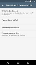 Sony Xperia XZ (F8331) - Aller plus loin - Désactiver les données à l'étranger - Étape 7