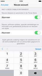 Apple iPhone 6 - Applicaties - Account instellen - Stap 17