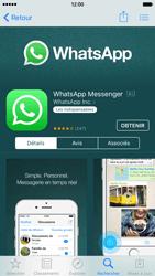 Apple iPhone 6 iOS 9 - WhatsApp - Télécharger WhatsApp - Étape 8