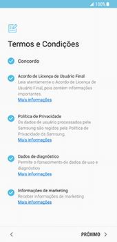 Samsung Galaxy S8 - Primeiros passos - Como ativar seu aparelho - Etapa 6