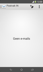 Sony D2005 Xperia E1 - E-mail - Account instellen (IMAP zonder SMTP-verificatie) - Stap 4