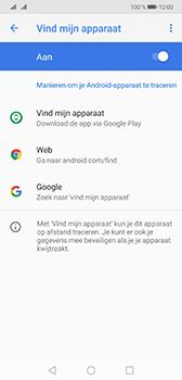Huawei Mate 20 - Toestel - stel Zoek mijn mobiel in - Stap 6