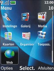 Nokia 6600 slide - Internet - Hoe te internetten - Stap 2