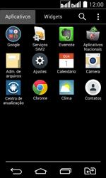 LG D295 G2 Lite - Rede móvel - Como ativar e desativar uma rede de dados - Etapa 3