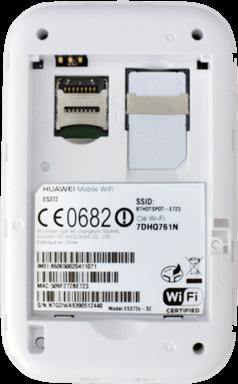 Huawei E5372 - Premiers pas - Noter les codes Wi-Fi - Étape 5