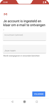 Xiaomi mi-a2-lite-dual-sim-m1805d1sg - E-mail - Account instellen (IMAP met SMTP-verificatie) - Stap 20