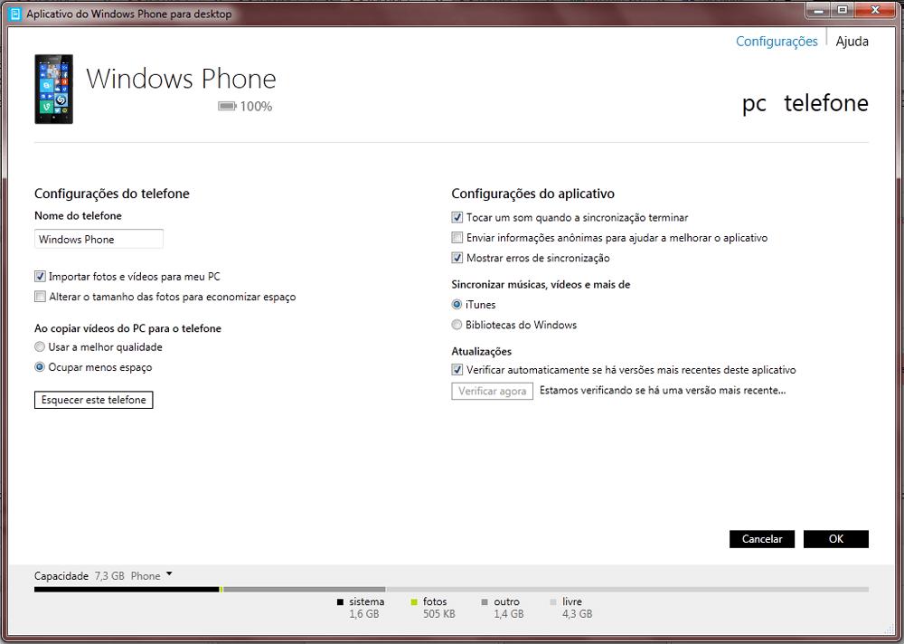 Nokia Lumia 1020 - Funções básicas - Como atualizar o software do seu aparelho - Etapa 6