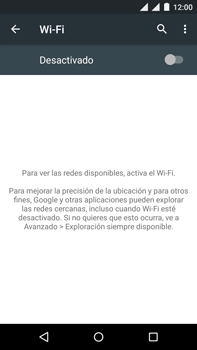 Motorola Moto X Play - WiFi - Conectarse a una red WiFi - Paso 5
