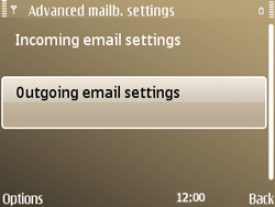 Nokia E72 - E-mail - Manual configuration - Step 24