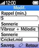 Alcatel OT-1035 - Premiers pas - Spécificités produits - Étape 10