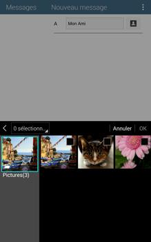 Samsung T335 Galaxy Tab 4 8-0 - MMS - Envoi d