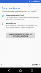 Sony Xperia XZ (F8331) - E-mail - Configuration manuelle (outlook) - Étape 13