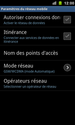 Samsung I9100 Galaxy S II - Internet - activer ou désactiver - Étape 6